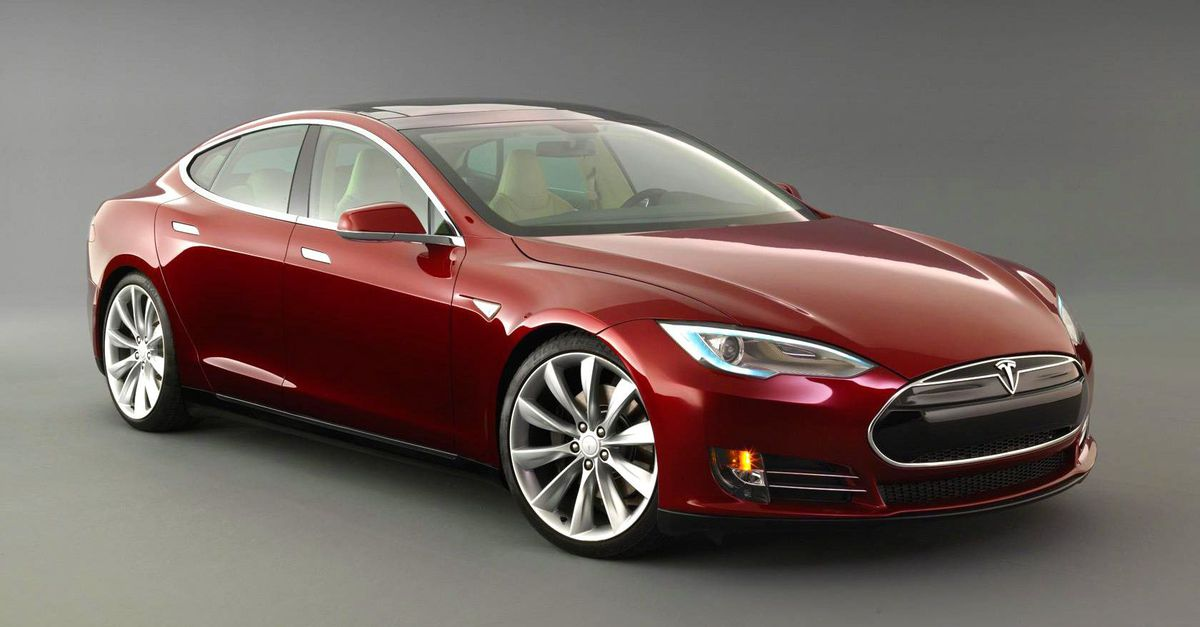 Tesla Model S with CQuartz Finest Reserve