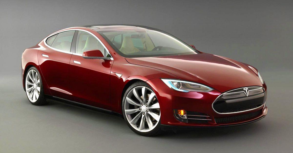 Tesla Model S with CQuartz Finest Reserve