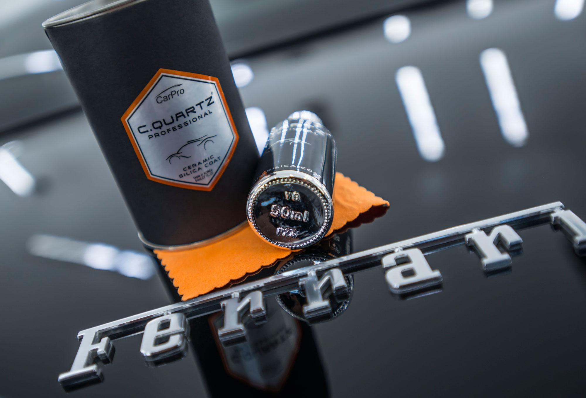 CQuartz Professional Nano Ceramic Auto Coating