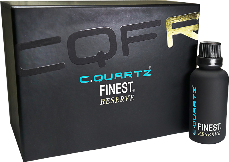 CQuartz Finest Reserve Packaging
